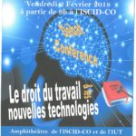 15 ème edition du colloque «le droit du travail et les NTIC»