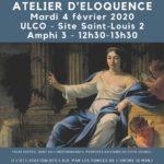 Club Jules Verne : Atelier d'éloquence
